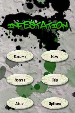 infestation-menu
