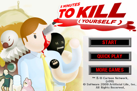 Five Minutes to Kill Yourself - Play on Armor Games