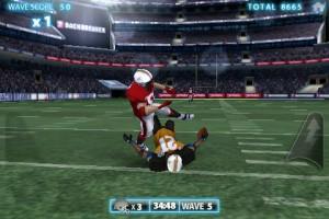 backbreaker football tackle