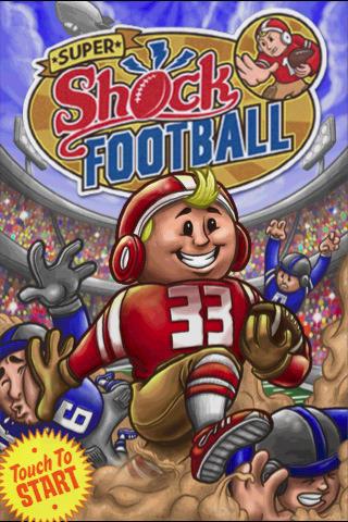 super shock football menu