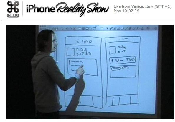 Command Guru - iPhone Reality Show