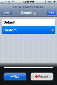 How to import a custom voicemail greeting to your iphone step 3 browse your iphones files and replace the voicemail file with your audio file m4hsunfo Choice Image