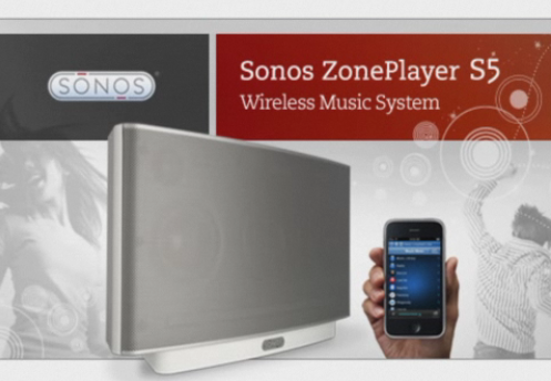 Review: Sonos ZonePlayer S5 With ZoneBridge 100 and iPhone Sonos Remote