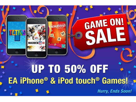 EA's Game On! Sale Includes Titles Like Rock Band, Need For Speed Shift, Madden NFL 10, And More