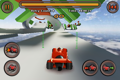 Review jet car stunts hottest games of 2009 we missed for Jet cars review