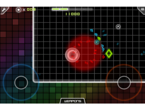 Today Only: Download The Geometry Wars-Like geoFighter For Free
