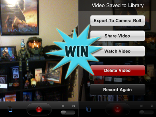 Win One Of Eight iVideoCamera Promo Codes With A Retweet Or Comment (Updated)