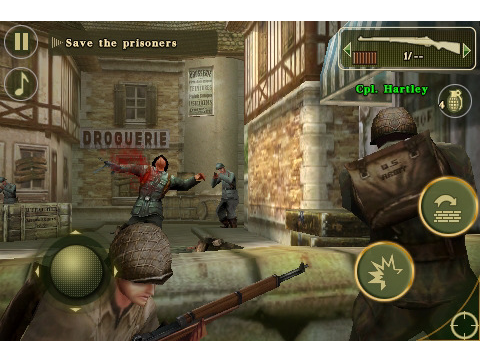 Brothers In Arms 2: Global Front Now Available In The App Store