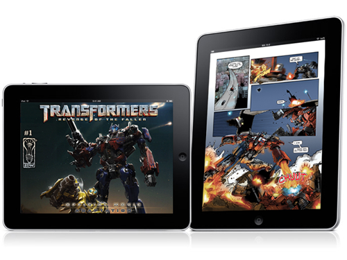 IDW Publishing To Support The iPad At Launch