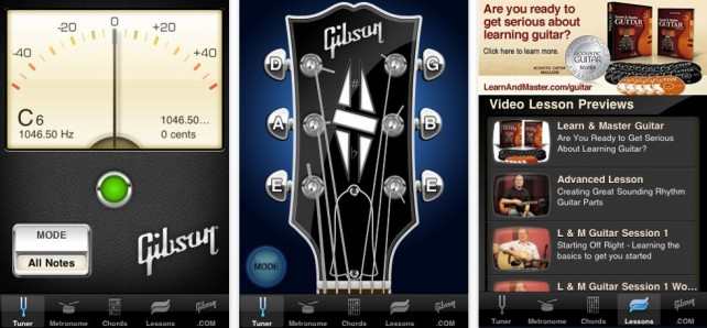 Learn And Master Guitar On Your iPhone With Gibson