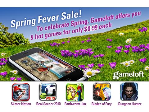 Gameloft's $.99 Spring Fever Sale Includes Earthworm Jim, Skater Nation, And More!