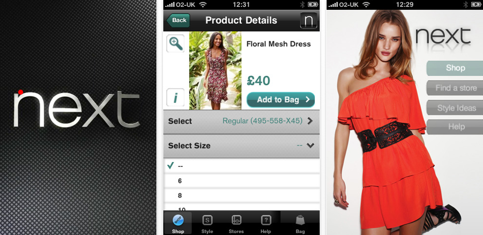 UK: Next Retail Gets An iPhone App