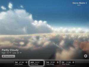 Weather HD by vimov, LLC screenshot