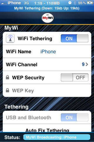Jailbreak Only: Tether Your iPhone's 3G To Your iPad With MyWi