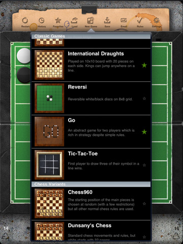 Traditional Board Games on the iPad