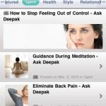 QuickAdvice: Oprah Mobile