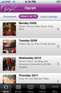Oprah Mobile by Hands-On Mobile screenshot