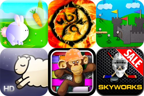 iPhone And iPad Apps Gone Free: Defend Your Castle, Carrot Rabbit, Count Sheep HD, And More
