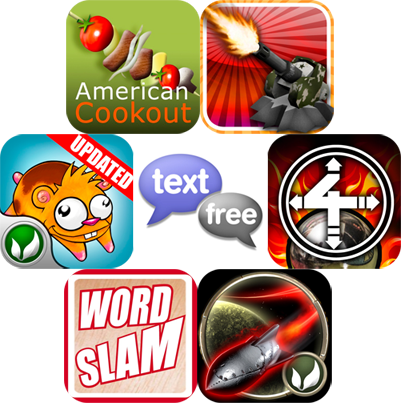 iPhone And iPad Apps Gone Free: Textfree Unlimited, American Cookouts, TowerMadness, And More