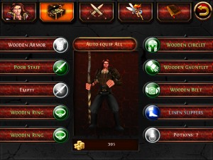 Dungeon Hunter HD by Gameloft screenshot