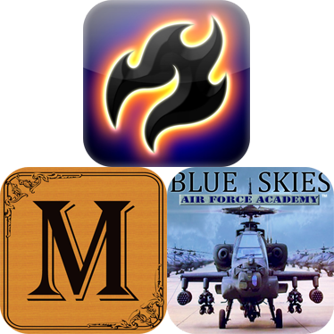 iPhone Apps To Download For Free: Blue Skies, Moxie, And flOOid
