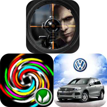 iPhone Games To Download For Free: Sniper Vs Sniper: Online, Gyrotate, And VW Touareg Challenge