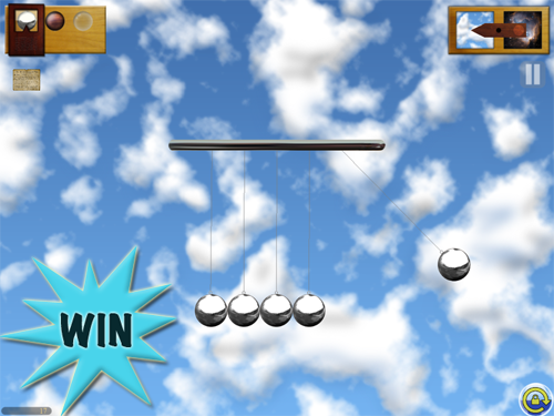 A Chance To Win A Newton's Cradle For iPad Promo Code With A Retweet Or Comment