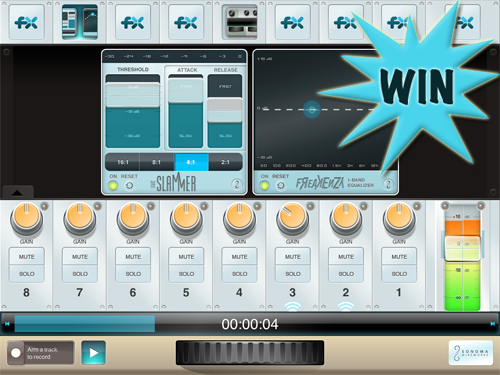 A Chance To Win A StudioTrack (iPad) Promo Code With A Retweet Or Comment
