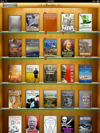 VBookz For iPad Reads Your eBooks For You