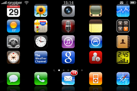 iphone icons at top iconoclasm jailbreak available for 15304