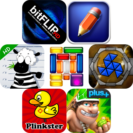 iPhone And iPad Apps Gone Free: bitFlip HD, LiveSketch, Trap Baaatholomew HD, And More