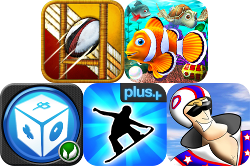 iPhone And iPad Apps Gone Free: Flick Kick Rugby, Pocket Fish, Daredevil Dave, And More