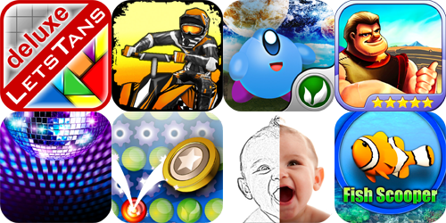 iPhone And iPad Apps Gone Free: LetsTans Deluxe, Dirt Moto Racing, PlanetOne And More