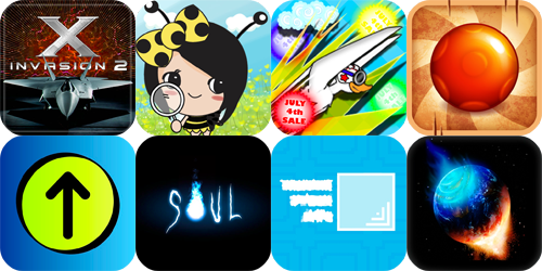 iPhone And iPad Apps Gone Free: Buzz2 Chaos, X Invasion 2, Soul And More