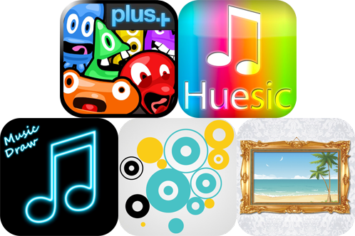 iPhone And iPad Apps Gone Free: Freaking Inkies, Huesic Colour Music Player, And More