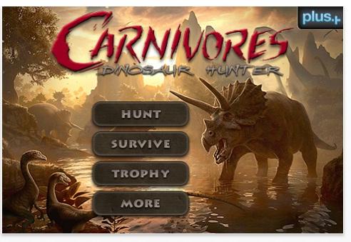 Carnivores: Dinosaur Hunter Hits The App Store
