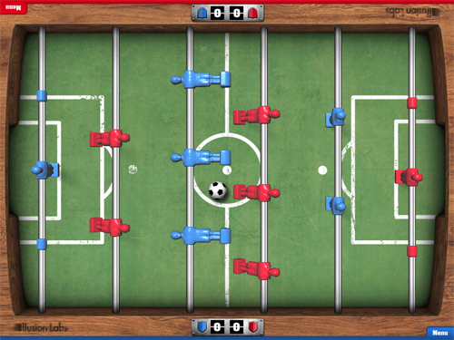Illusion Labs' Foosball HD For iPad Now Available