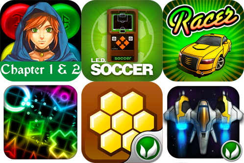 iPhone Games Gone Free: Puzzle Quest Chapter 1 & 2, LED Soccer, Racer, And More