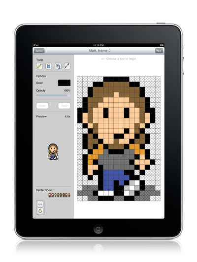 Retro, Pixel-Based Design Comes To iPad