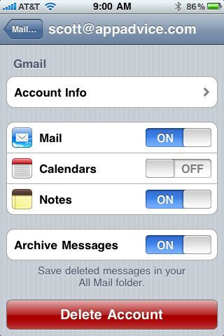 How To Sync And Manage Notes With Gmail and iOS4