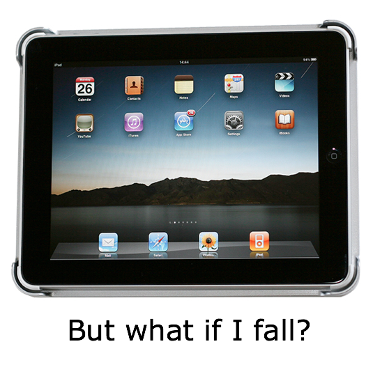 Would You Stick Your IPad To The Kitchen Fridge?