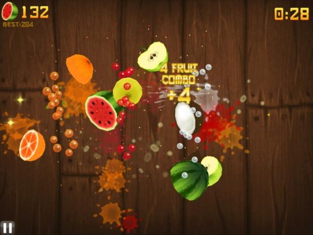 Review: Fruit Ninja HD