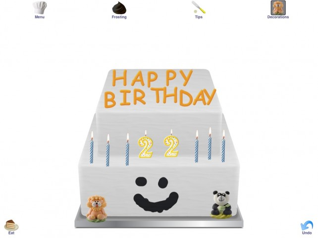Review: Cake Doodle - Universal App - Cake Making on iPhone and iPad