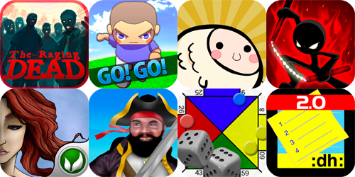 iPhone And iPad Apps Gone Free: The Raging Dead, Go! Go! Soccer, Fish Ball And More