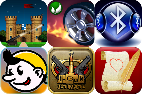 iPhone And iPad Apps Gone Free: Online Artillery, iBrr Bluetooth Receiver, Skid Racer And More