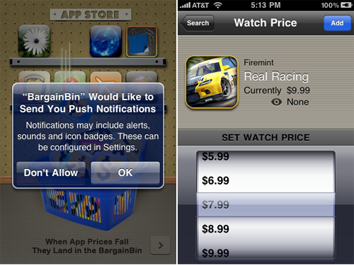 The Great BargainBin App With Full iOS 4 Support Now Available & Free For A Limited Time!