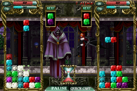 Castlevania Puzzle: Encore Of The Night Hits The U.S. App Store