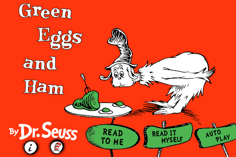 Dr. Seuss' Green Eggs And Ham Now Available In eBook Form For iPad And iPhone