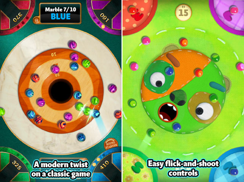 Popular iPad Party Game, Marble Mixer, Arrives For iPhone
