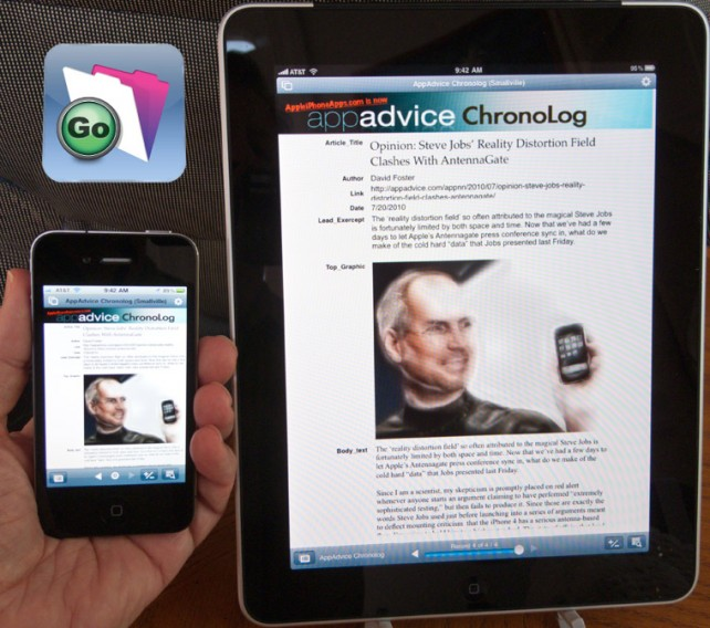 Review: FileMaker Go for iPhone/iPod Touch & iPad